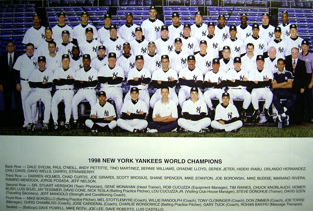 an analysis of the new york yankees season of 1998 Chronology, in special section a season to remember, of each game of 1998 season for new york yankees (m.