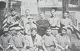 Ruth (top row, far left) at St Mary's Industrial School for Boys