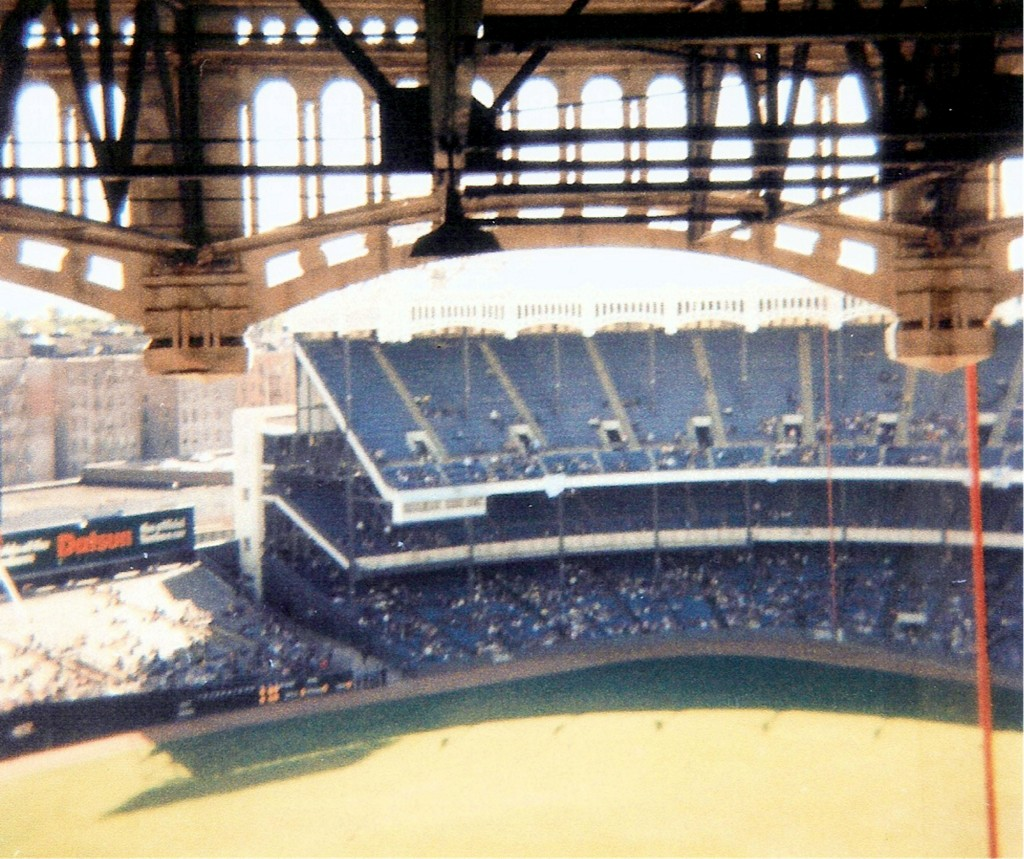 On this day in 1976 the new york yankees debuted the new yankee