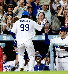 Joe Torre has let Manny be Manny as the slugger has hit 17 home runs since joining the Dodgers. Ramirez is one of the main reasons L.A. is playoff-bound ...