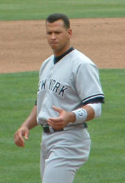 Alex Rodriguez, 2005 & 2007 season American League MVP